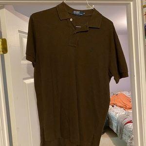 Medium Brown Ralph Lauren polo